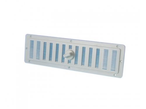 Grille de ventilation rectangulaire 20.5 x 5cm