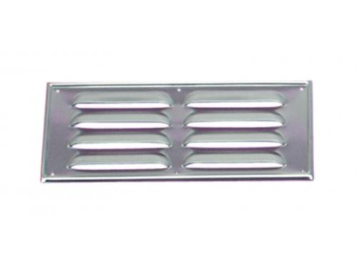 Grille de ventilation aluminium 25.5 x 11.5 cm