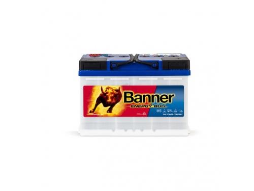 BATTERIE DÉCHARGE LENTE BANNER ENERGY BULL 956 01  12V 80 AH