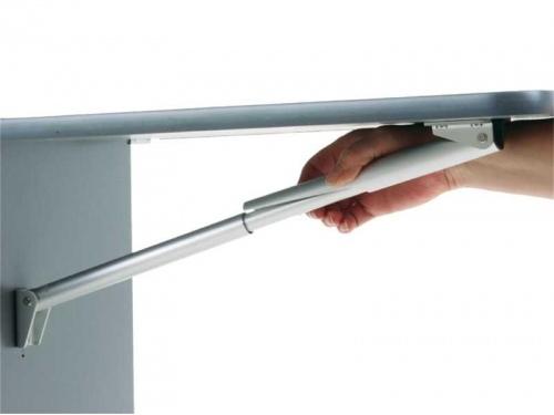 Equerre de table pliante en aluminium