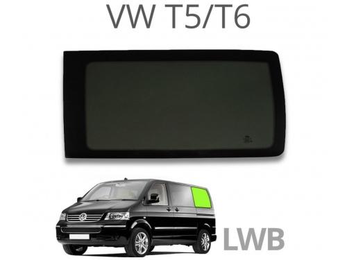 Vitre panneau arrière gauche L2H1 Volkswagen Transporter T5 T6