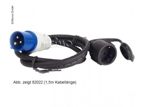 Câble adaptateur 0.4m CEE mâle/Femelle Schuko