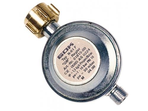 Détenteur de gaz sans manomètre  Typ EN61 PS 16 bar