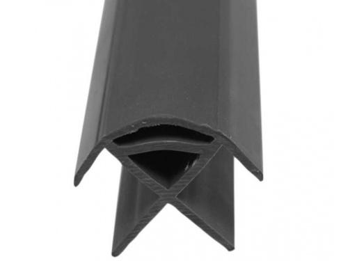 Profil angle de meuble en plastique