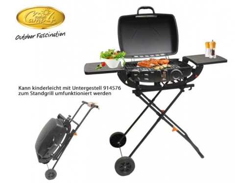 Barbecue pliant Tom au charbon de bois