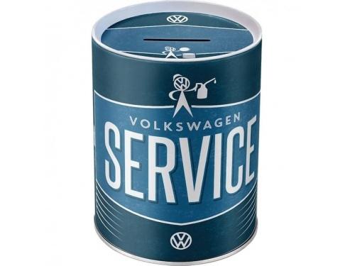 Tirelire en métal collection Volkswagen Service