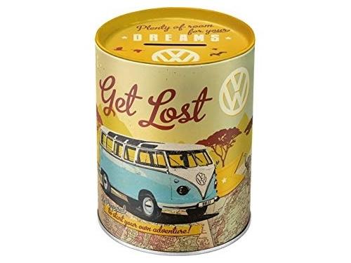 Tirelire en métal collection volkswagen Let's get lost