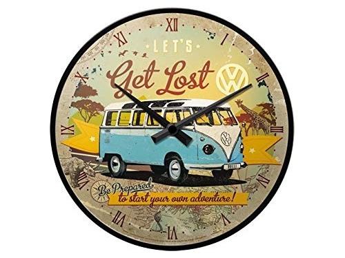 Horloge murale collection Volkswagen get lost