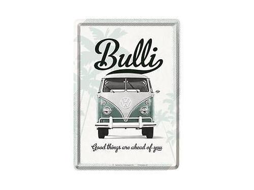 Carte postale en métal Nostalgic Art collection Bulli