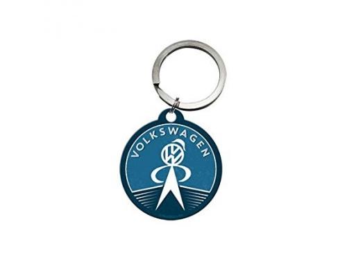 Porte clé rond Volkswagen Collection Service