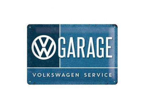 Plaque émaillé collection Volkswagen Service