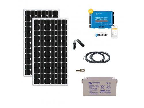 Kit solaire 320 W autonome 12V Monocristallin