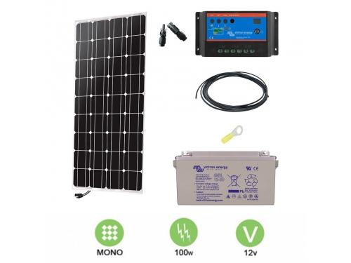 Kit solaire 100 W autonome 12V