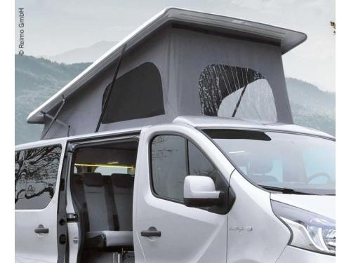 Toit relevable Reimo Easy Fit pour Renault Trafic court (L1H1) Ouverture avant blanc