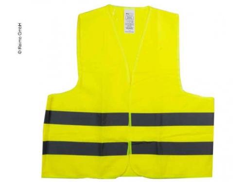 Gilet sécurite jaune