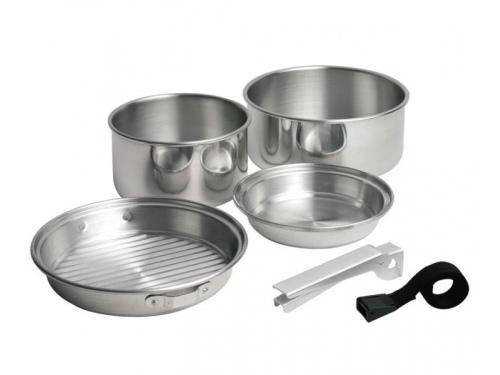 Batterie de cuisine aluminium 5 poêles et casseroles