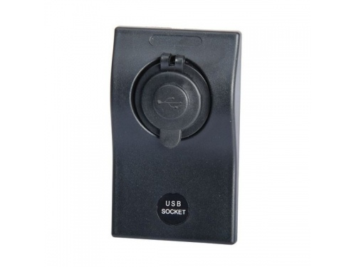 Port double USB Osculati sur platine