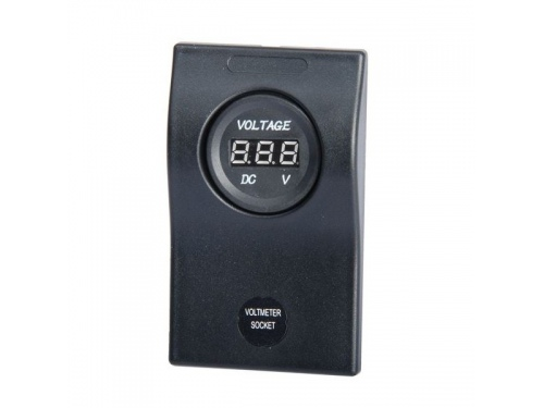 Voltmètre numérique Osculati sur platine
