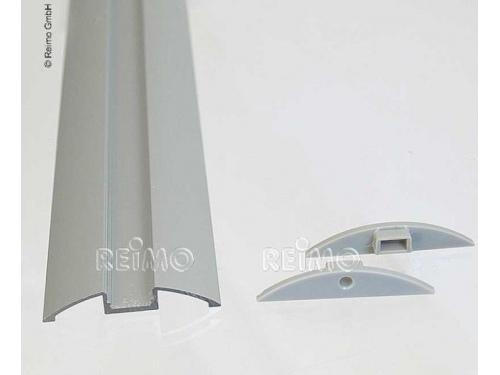 Profil en aluminium plat pour bandeau LED