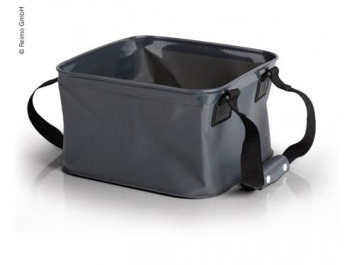 Seau d'eau pliable de 9 Litres avec sacoche