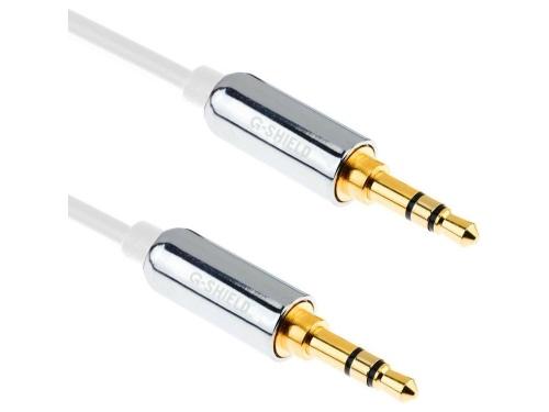 Câble G-Shield® double prise jack stéréo de 5m, prise Jack 3,5mm.