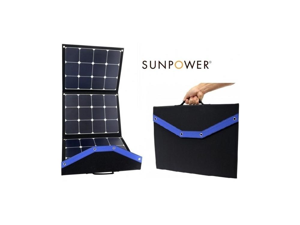 chargeur solaire à travers une vitre
