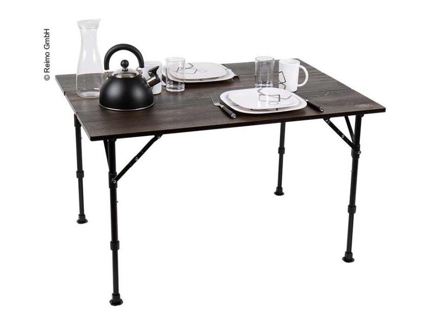 Table bambou et aluminium mendoza enroulable