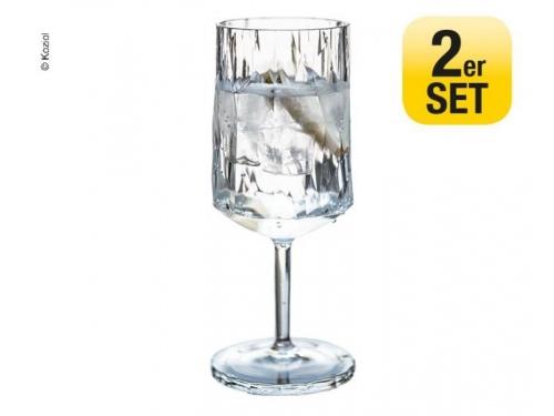 Set de 2 verres à vin rouge