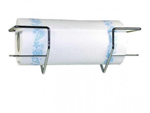 Support chrome pour rouleau de papier