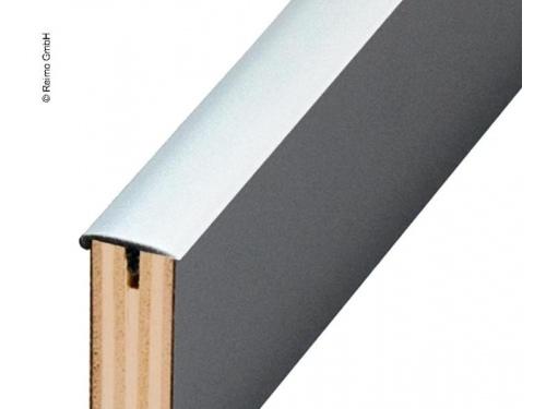 Profil en U en tige d'aluminium