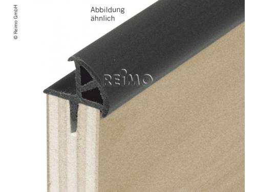 Profil angle pour porte grise foncé