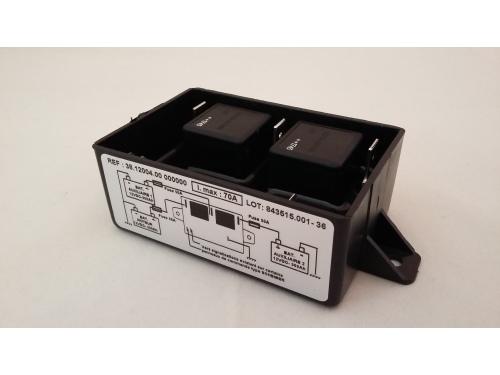 Coupleur / Séparateur Scheiber  3 batteries 12V 300Ah.