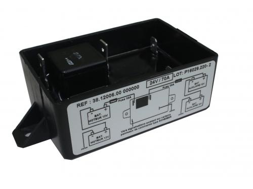 Coupleur / Séparateur Scheiber 2 batteries 24V 300Ah.