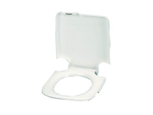 Lunette plus couvercle de toilette pour porta potti 465 Granite