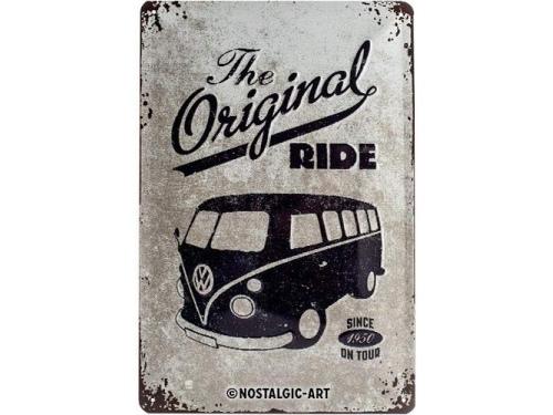 Plaque émaillé 20X30cm. Collection Volkswagen Original Ride.