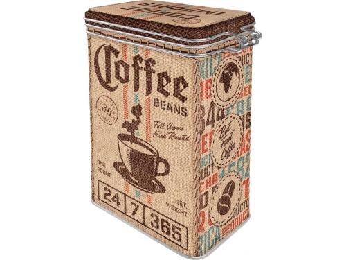 Boite à clips Nostalgic Art. Collection COFFEE