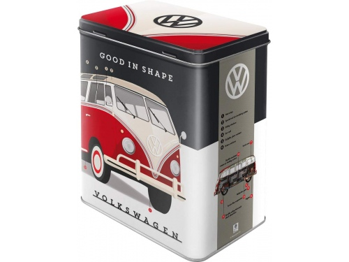 Boite Tin Boxes L Nostalgic Art VOLKSWAGEN GOOD IN SHAPE
