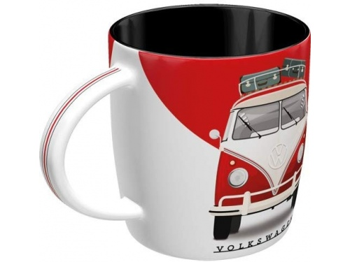 Mug Tasse Rouge Volkswagen Collection Décor Combi Split