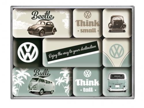 Aimants Nostalgic Art Volkswagen Bus et Beetle