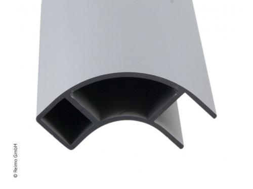 Profil d'angle de meuble en aluminium