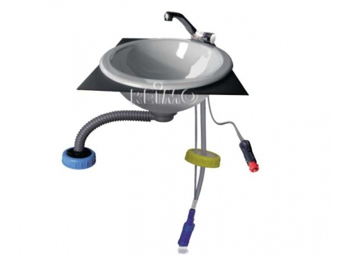 Kit mise en eau complet avec évier Inox