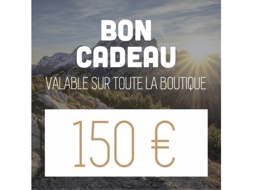 Bon d'achat de 150€ CAMPERWOOD