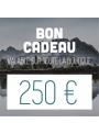Bon d'achat de 250€ CAMPERWOOD