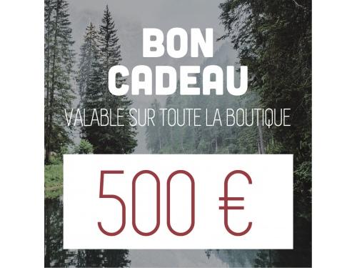 Bon d'achat de 500€ CAMPERWOOD