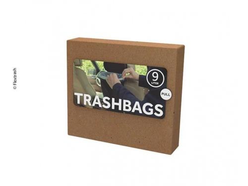 """Sacs biodegradables pour poubelle """"Flextrash"""" 9 Litres"""