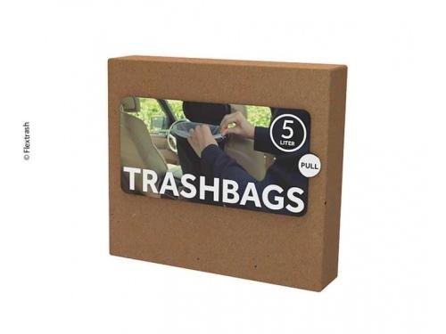 """Sacs biodegradables pour poubelle """"Flextrash"""" 5 Litres"""