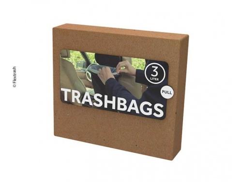 """Sacs biodegradables pour poubelle """"Flextrash"""" 3 Litres"""