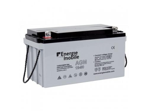 90Ah BATTERIE ETANCHE AGM ENERGIE MOBILE