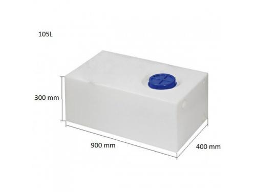 Réservoir rigide eau potable 80 l