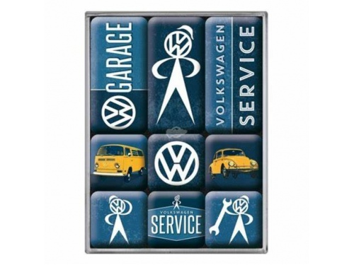 Aimants Nostalgic Art Volkswagen Service